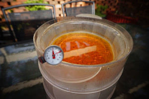 Evaporating the alcohol 300x199 Extreme Buffalo Wing Sauce