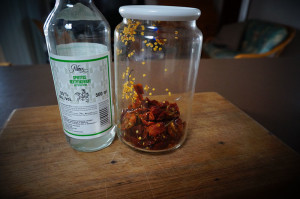 Homemade chili extract ingredients