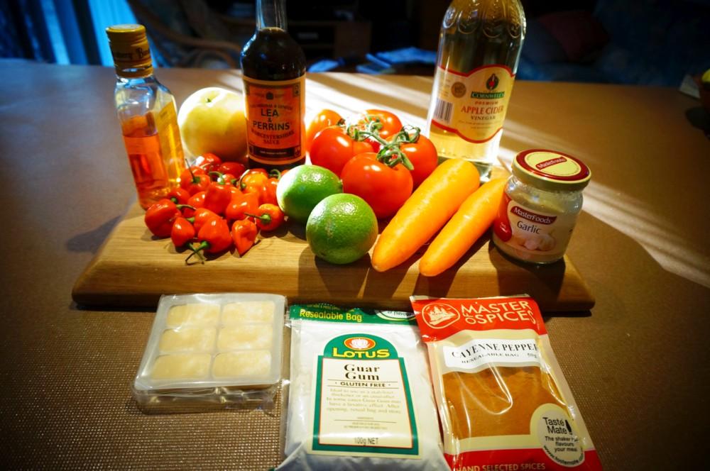 Habanero Pepper Sauce Habanero Hot Sauce Ingredients